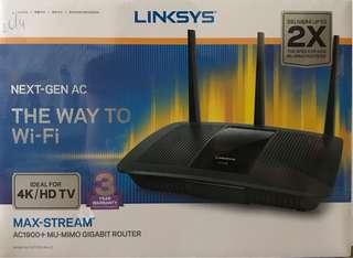 Linksys Max-stream AC1900+ MU-MIMO GB Router