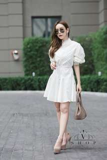 White dress; vshop