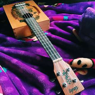 🚚 26吋 烏克麗麗 古典方型 音質脆美 復古文青
