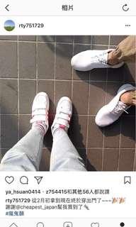 🚚 日本代購 超稀有adidas粉色魔鬼氈鞋