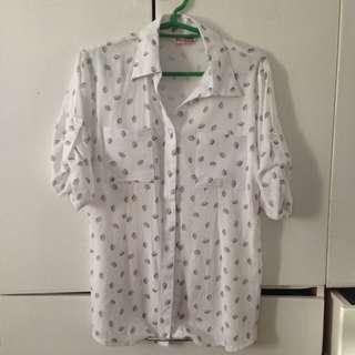 White Polo half-sleeves