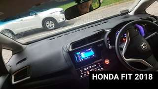 Honda FIT PU Leather Dashboard mat