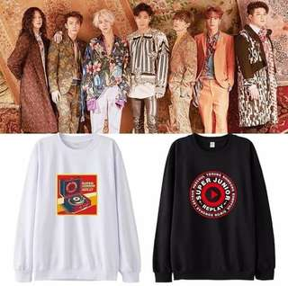 Preorder - SUPER JUNIOR REPLY SWEATSHIRT *S-3XL* exc pos