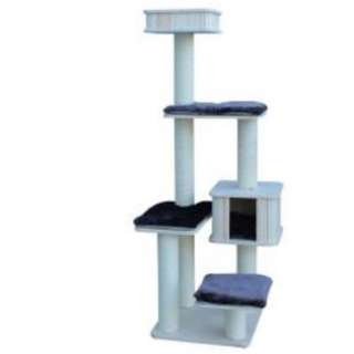 Colacat Cat Condo Solid Wood MK170431 (L56xW56xH172)