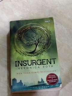 Buku SEQUEL Divergent / INSURGENT / Bahasa Indonesia