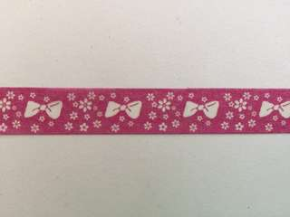 Ribbon and Flowers Washi Tape 15mm x 10m #GJ5