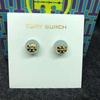 Tory Burch Earrings moonstone 月亮石耳環