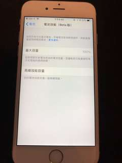 Apple iPhone 6S 64g white silver 銀白色,原裝新電池