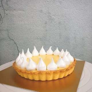 法式蛋白霜檸檬塔