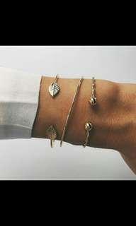 Po set of 3 bracelets