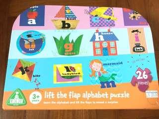 Elc alphabet puzzle with original box