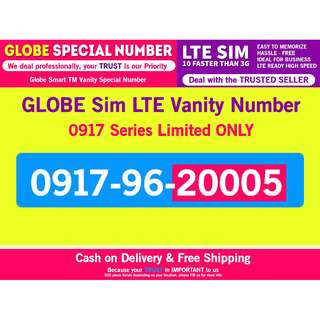 0917 Globe Special Number