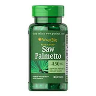 Puritan's Pride Saw Palmetto 450 mg / 100 Capsules