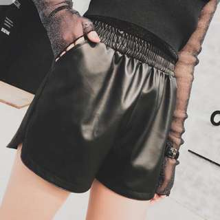 BN Leather Shorts