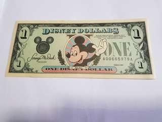 $1 Disney Dollar