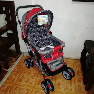 Baby First Red Stroller (CD-S001HD)