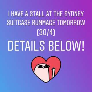 SYDNEY SUITCASE RUMMAGE STALL