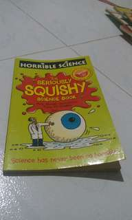 Preloved Book 💖 Horrible Science The seriously squishy science book