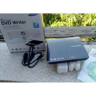 Samsung SE-208 Slim Portable DVD Writer (Black)
