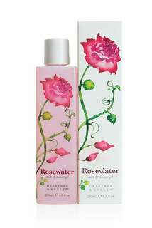 SALE Rosewater Bath & Shower Gel