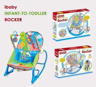 BN FREE DELIVERY iBabyBaby Rocker