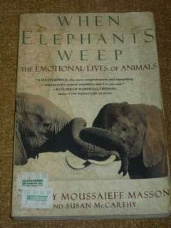 Books: When Elephants Weep