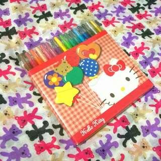 16 colors crayon