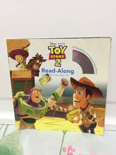 Toy Story 2 Read Along Storybook & CD