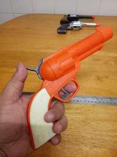Vintage toys cowboy pistol