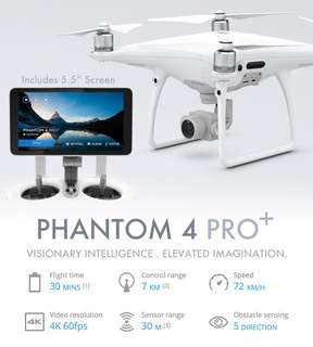 Phantom 4 pro +