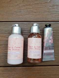 L'OCCITANE Rose Bath Shower Gel and hand cream
