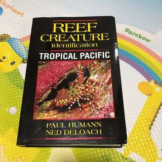 Reef Creatures Identification Book (Diving)