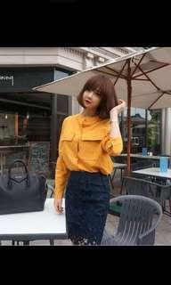 Crochet Black Skirt