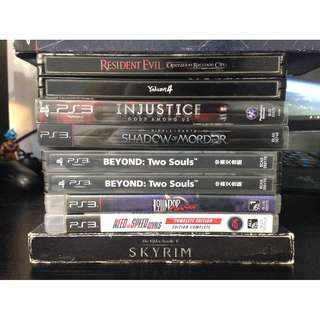 Playstation 3 (PS3) Games - for sale or trade to PS4 Games
