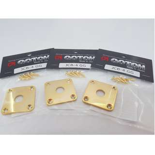 Gotoh Square Jack Cover (JCB-4) - Gold