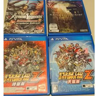 PS4 and PS VITA game