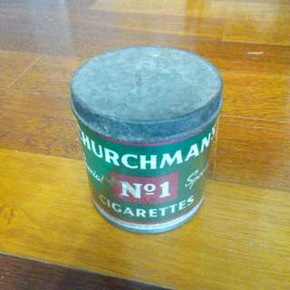 Churchman's Cigarettes Tin Vintage 2