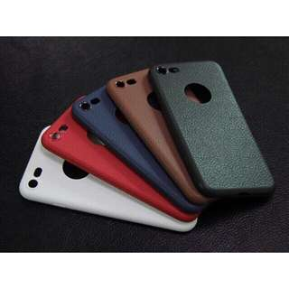 Leather Texture Case for IPhone
