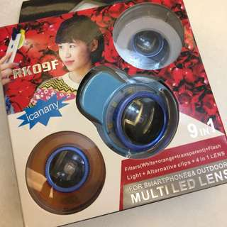 Multiled lens for iphone