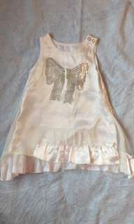 Toddler Satin Dress (2-3yr)