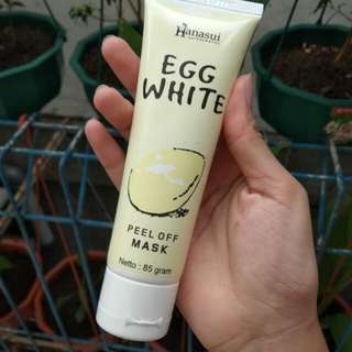 Hanasui Egg White Peel Off Mask