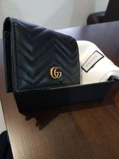 Gucci Black Marmont Wallet