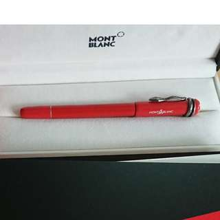 99% New Mont Blanc Heritage Collection Coral Roller Ball full set