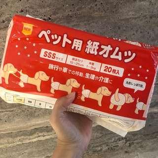 🚚 日本狗狗尿布/生理尿布/SSS號