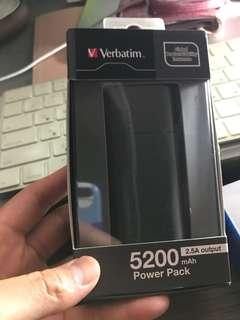 Verbatim 5200 mAh Power Pack  尿袋