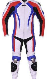 Motorcycle motorbike Leather Racing Suit