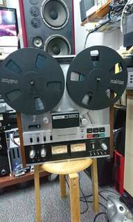 """Teac A-6300 10""""open reels tape recorder."""