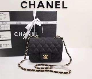 Chanel Flap Caviar mini