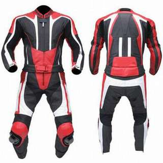 Motorbike Leather motorcycle Racing Leather suit