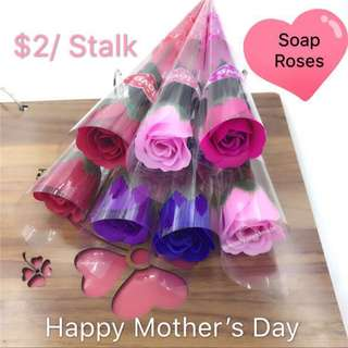 HAPPY MOTHER'S DAY - Gift - Soap Roses 🌹 (PRETTY AND NICE)